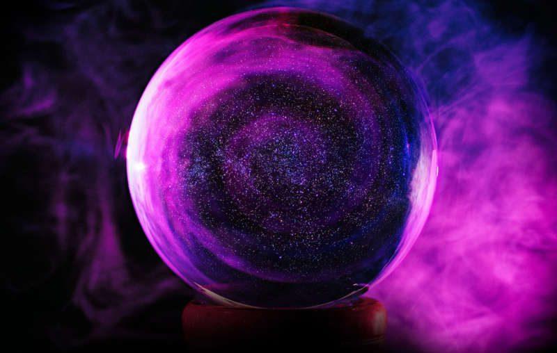 хрустальный шар предсказаний
