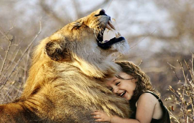 Лев-мужчина